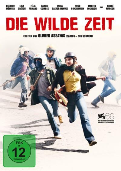 Die wilde Zeit - DVD-Cover