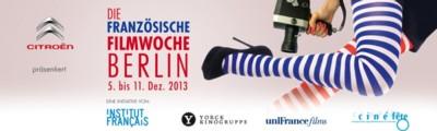 Französische Filmwoche Berlin 2013 - Banner