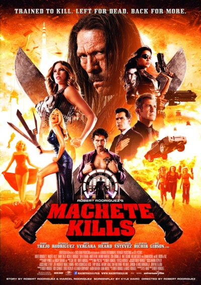 Machete Kills - Plakat