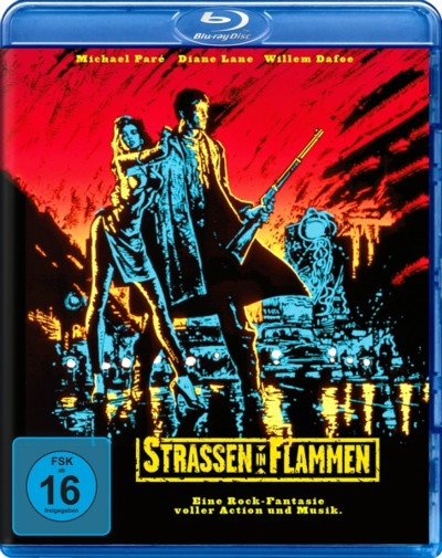 Strassen in Flammen - Blu-ray