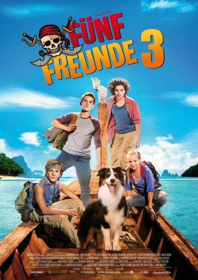 Fünf Freunde 3 - Plakat