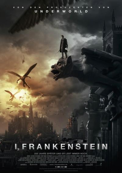 I Frankenstein - Plakat