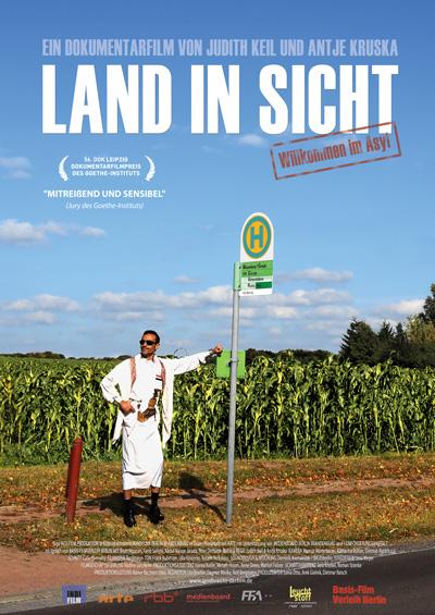 Land in Sicht - Plakat