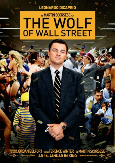 The Wolf of Wall Street - Plakat