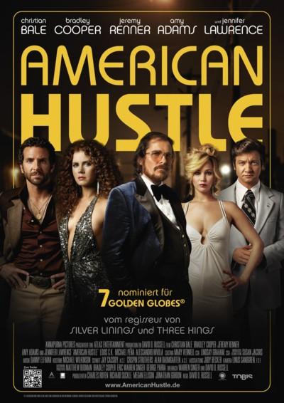 American Hustle - Plakat