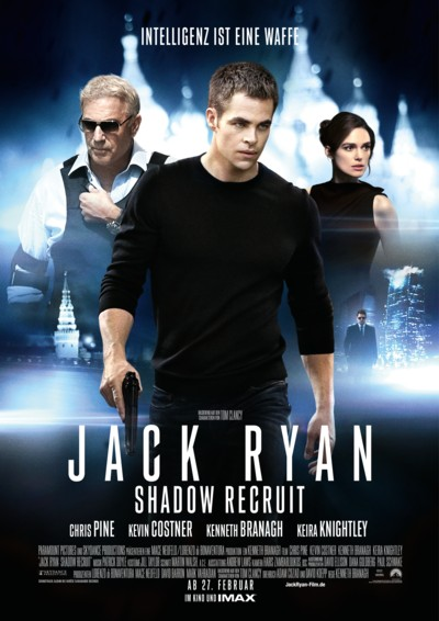Jack Ryan - Shadow Recruit - Hauptplakat