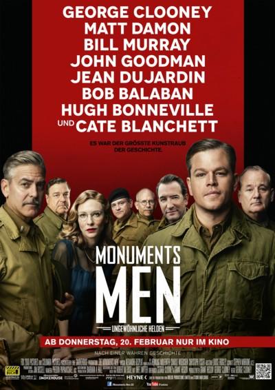 Monuments Men - Plakat