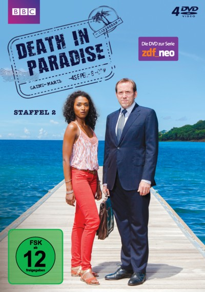 Death in Paradise - Staffel 2 - DVD-Cover