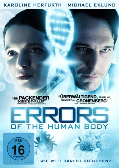 Errors of the Human Body - DVD-Cover