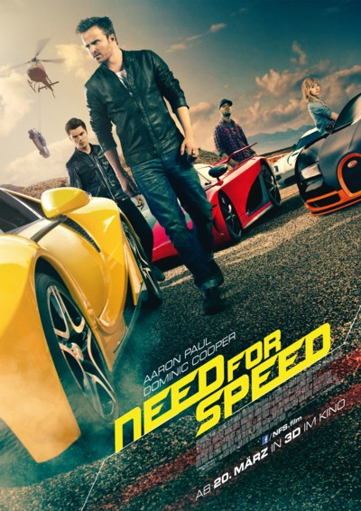 Need for Speed - Plakat