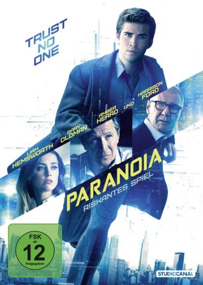 Paranoia - DVD-Cover