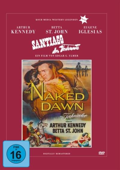 Santiago, der Verdammte - DVD-Cover
