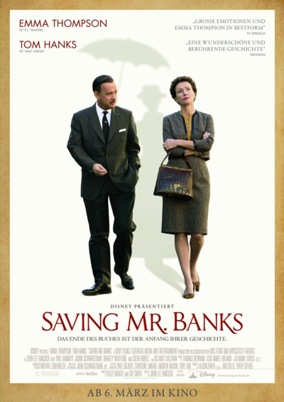 Saving Mr Banks - Plakat