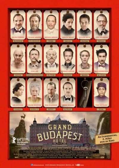 The Grand Budapest Hotel - Plakat