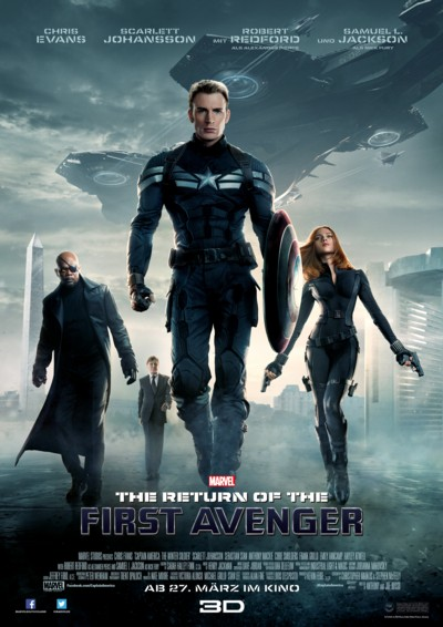The Return of the First Avenger - Plakat