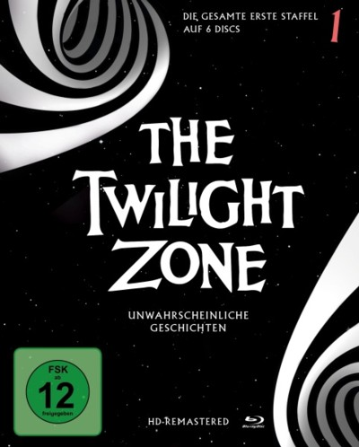 The Twilight Zone - Staffel 1 - DVD-Cover