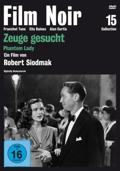 Zeuge gesucht - DVD-Cover