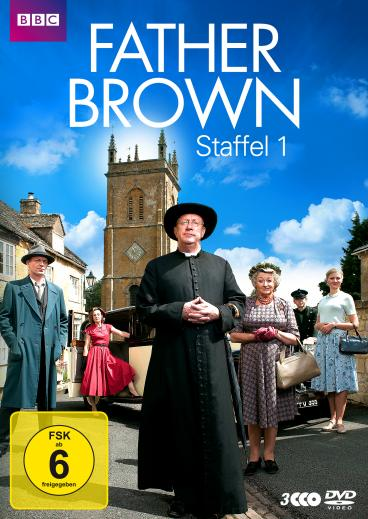 Father Brown - Staffel 1 - DVD-Cover