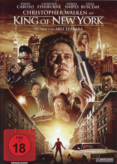 King of New York - DVD-Cover