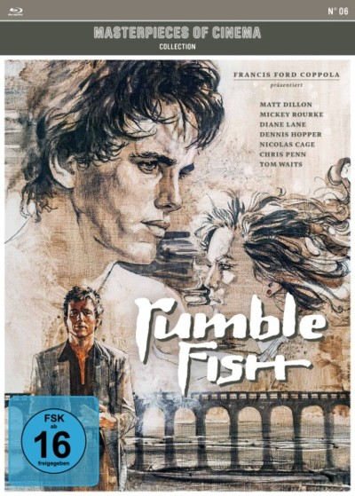 Rumblefish - Blu-ray-Cover
