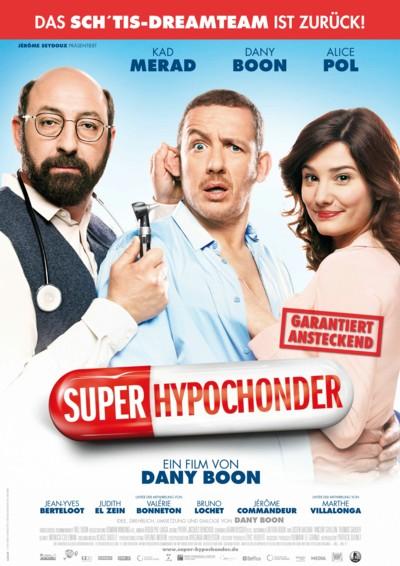 SuperHypochonder - Plakat