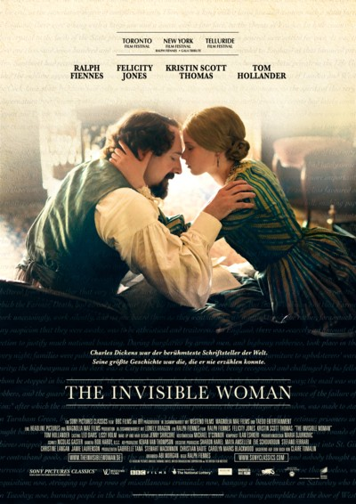 The Invisible Woman - Plakat