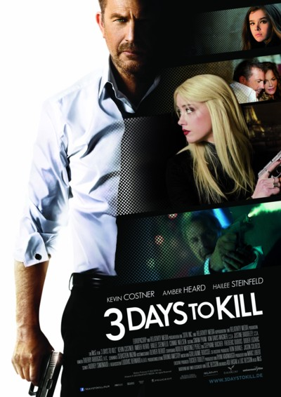 3 Days To Kil - Plakat