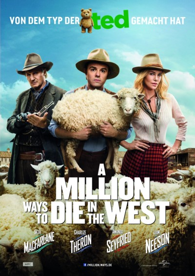 A Million Ways to die in the West - Plakat