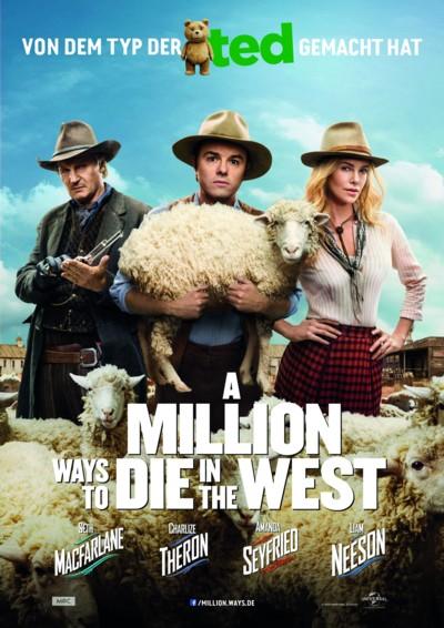 A Million Ways to die in the West - Plakat