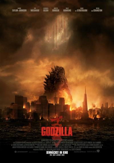 Godzilla - Plakat