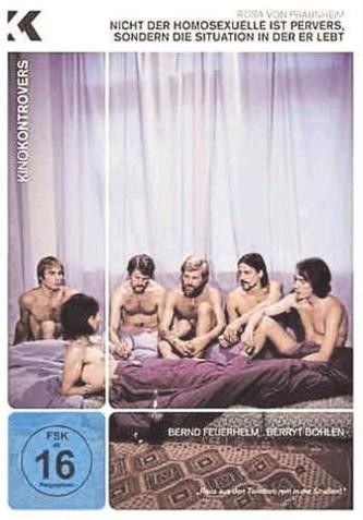 Nicht der Homosexuelle - DVD-Cover
