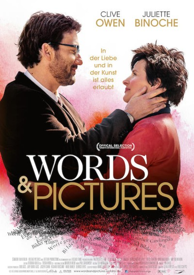 Words and Pictures - Plakat