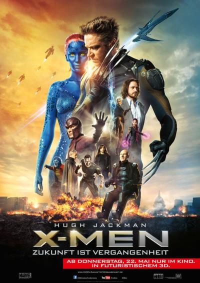 X-Men Zukunft ist Vergangenheit - Plakat
