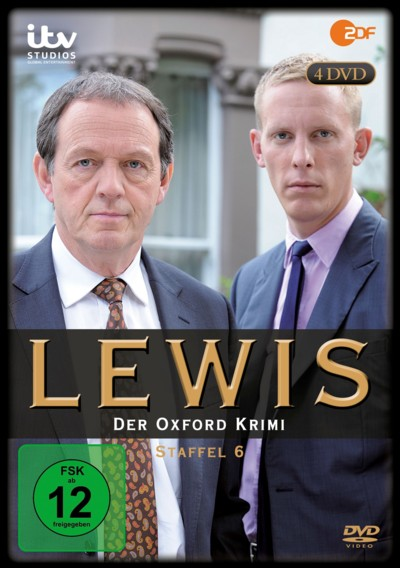 Lewis - Staffel 6 - DVD-Cover