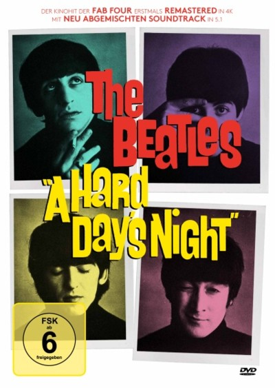 A Hard Day's Night - DVD-Cover