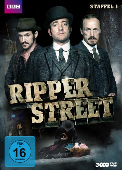 Ripper Street - Staffel 1 - DVD-Cover
