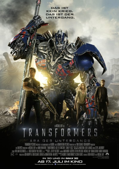 Transformers 4 - Hauptplakat - 4