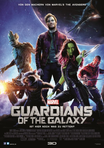 Guardians of the Galaxy - Plakat