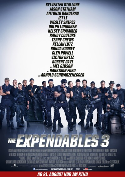 The Expendables 3 - Plakat