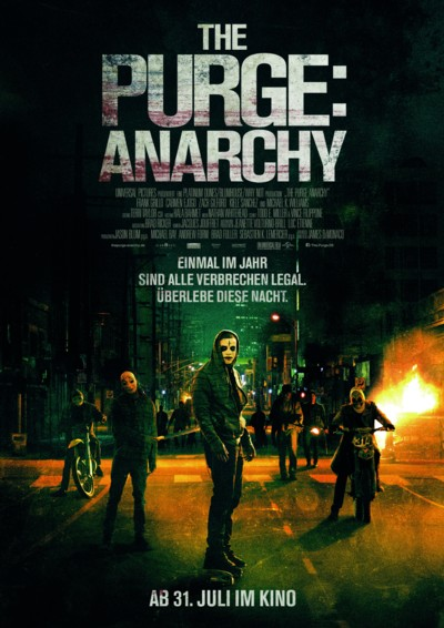 The Purge Anarchy - Plakat