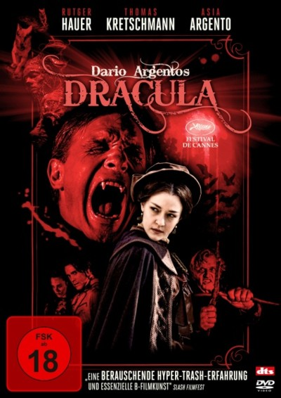 Dario Argentos Dracula - DVD-Cover
