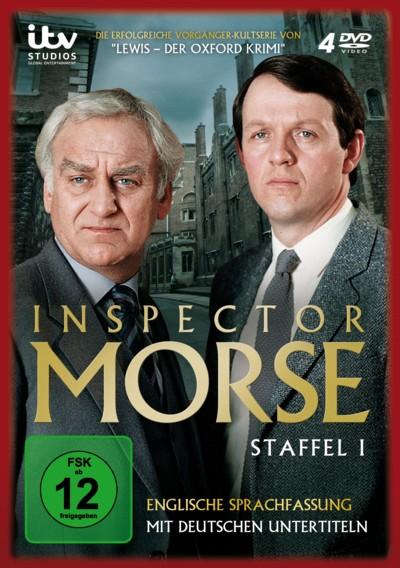 Inspector Morse - Staffel 1 - DVD-Cover