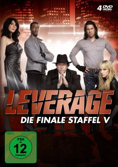 Leverage - Staffel 5 - DVD-Cover