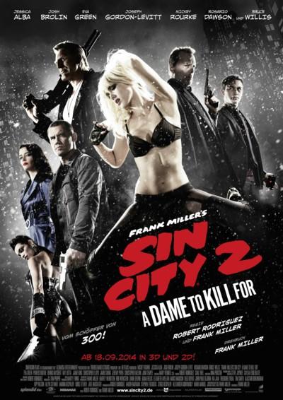 Sin City 2 - Plakat