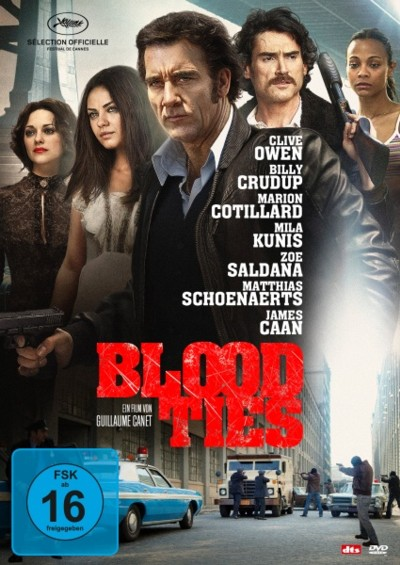 Blood Ties - DVD-Cover