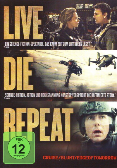 Edge of Tomorrow - DVD-Cover