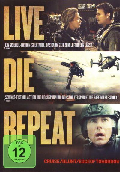 Edge of Tomorrow - DVD-Cover