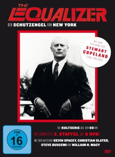 The Equalizer - Staffel 2 - DVD-Cover