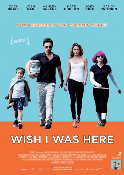 Wish I was here - Plakat