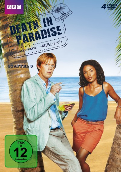 Death in Paradise - Staffel 3 - DVD-Cover